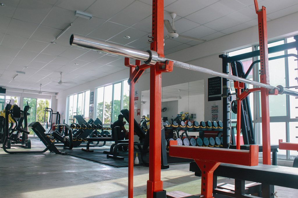 vi fitness comp rack