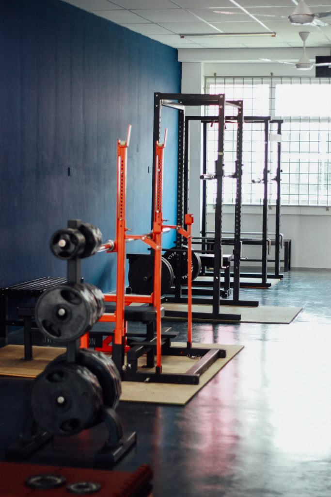 Free Weight Section   VI FITNESS S2