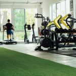 Sled, dumbbells and cardio section | VI FITNESS S2
