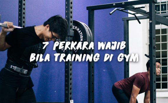 7 wajib training gym